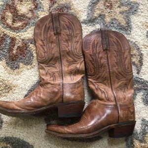 Shoes - Vintage cowboy boots size 6.5